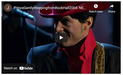 Watch a new director's cut of Prince's legendary While My Guitar Gently Weeps solo, now with more Prince   Guitar World