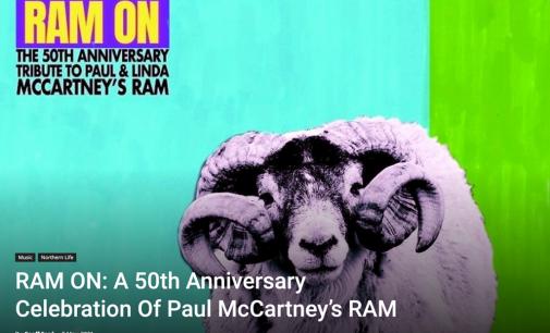 RAM ON: A 50th Anniversary Celebration of Paul McCartney's RAM » Northern Life