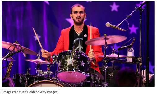 Ringo Starr's fanbase create peace and love birthday video   Louder