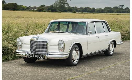 Beatles guitarist George Harrison's Mercedes-Benz 600 up for auction