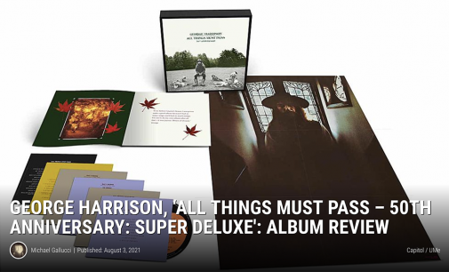 George Harrison, 'All Things Must Pass-50th Anniversary': Review