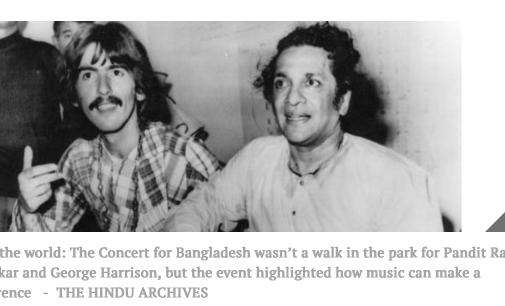 Their guitars gently wept for Bangladesh – The Hindu BusinessLine