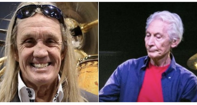 Iron Maiden's Nicko McBrain Gets Emotional While Paying Tribute To Charlie Watts And Joey Jordison