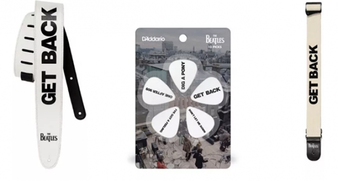 D'Addario unveils new Beatles-branded Get Back picks and straps | Guitar World