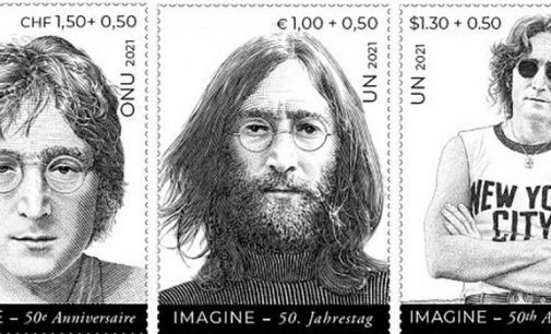 John Lennon, stamps inspiring message of peace, on UN's big week | | UN News