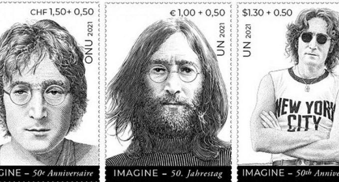 John Lennon, stamps inspiring message of peace, on UN's big week     UN News